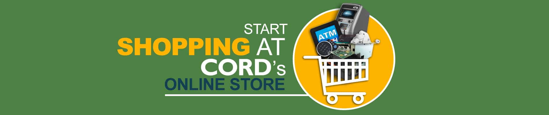 Start shopping at CORD's online store