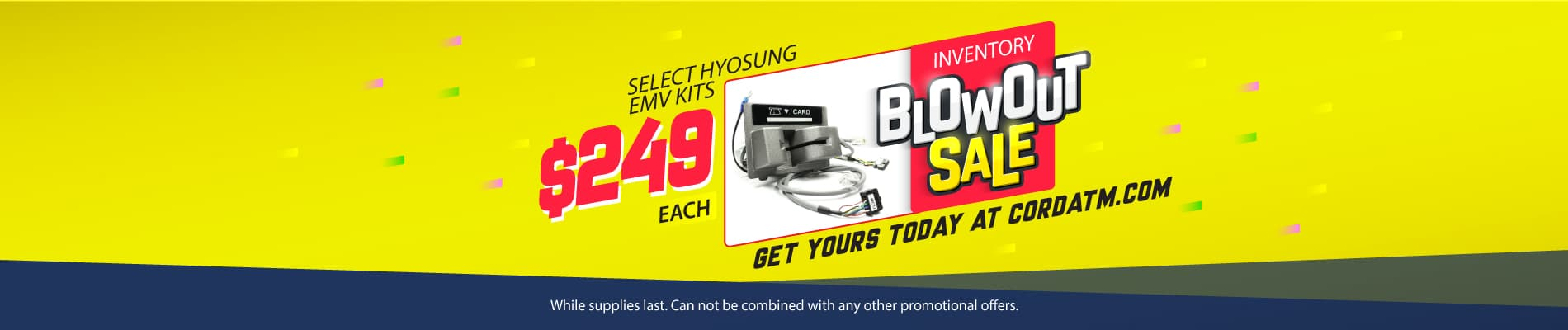 Hyosung EMV Kit Blowout Sale